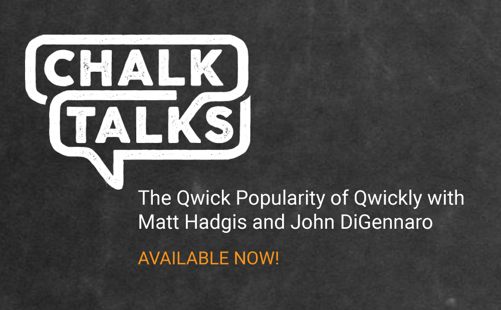 Qwickly Co-Founders Featured on Bb ChalkTalks