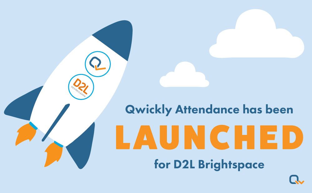 Qwickly Attendance is Now Available for D2L Brightspace