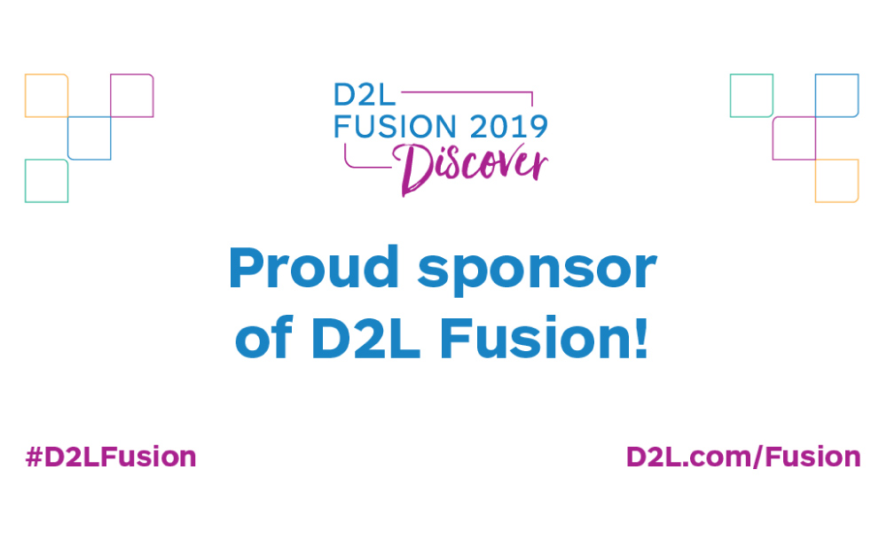 Qwickly Sponsored D2L Fusion 2019 in Kissimee, FL, Presented Qwickly Attendance