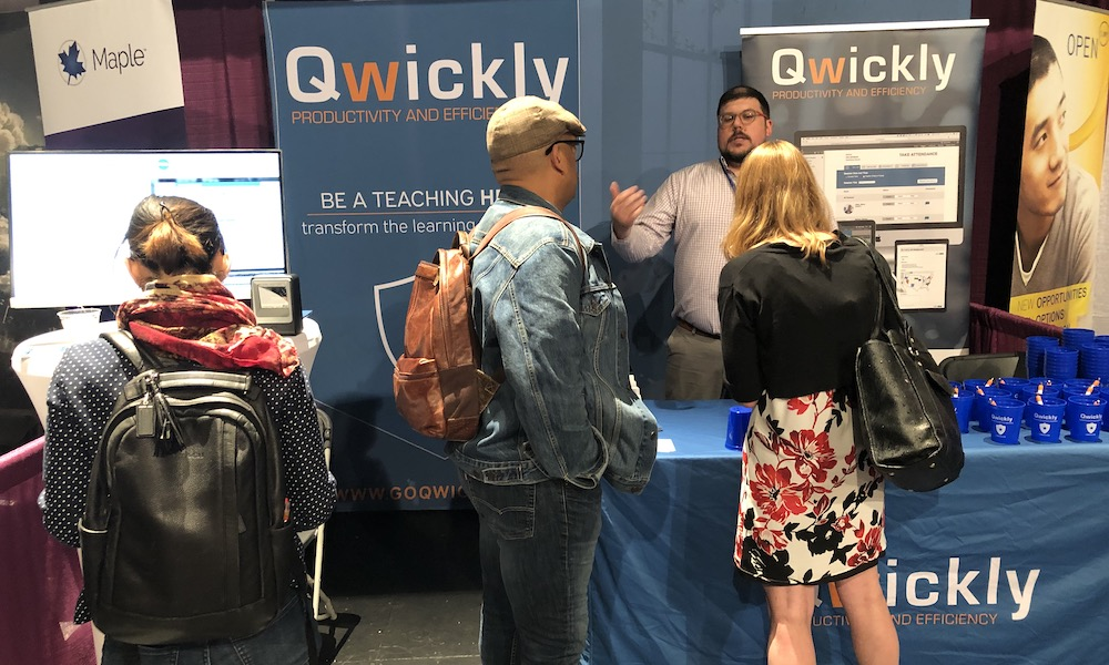 Qwickly Sponsored SUNY Conference on Instruction & Technology