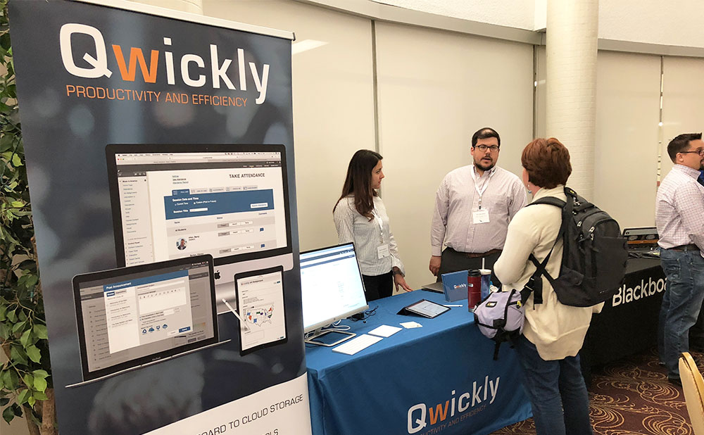 Visit Qwickly at CanvasCon: WisCONsin